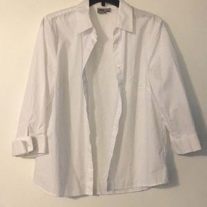 3/4 Sleeve Button-Up